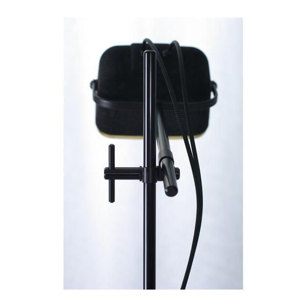 Stolní lampa SwabDesign Mob Velvet, černá
