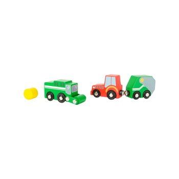 Set jucării din lemn pentru copii Legler Farm de la Legler