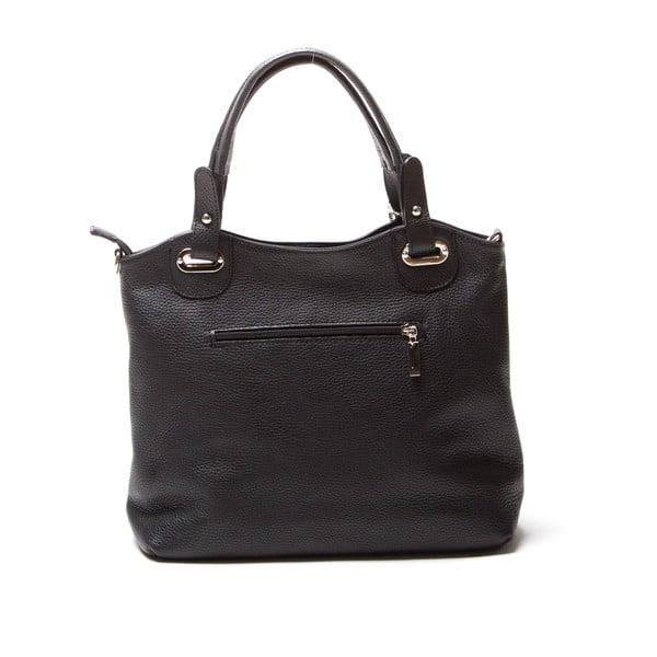Kožená kabelka Luisa Vanini 1103, černá
