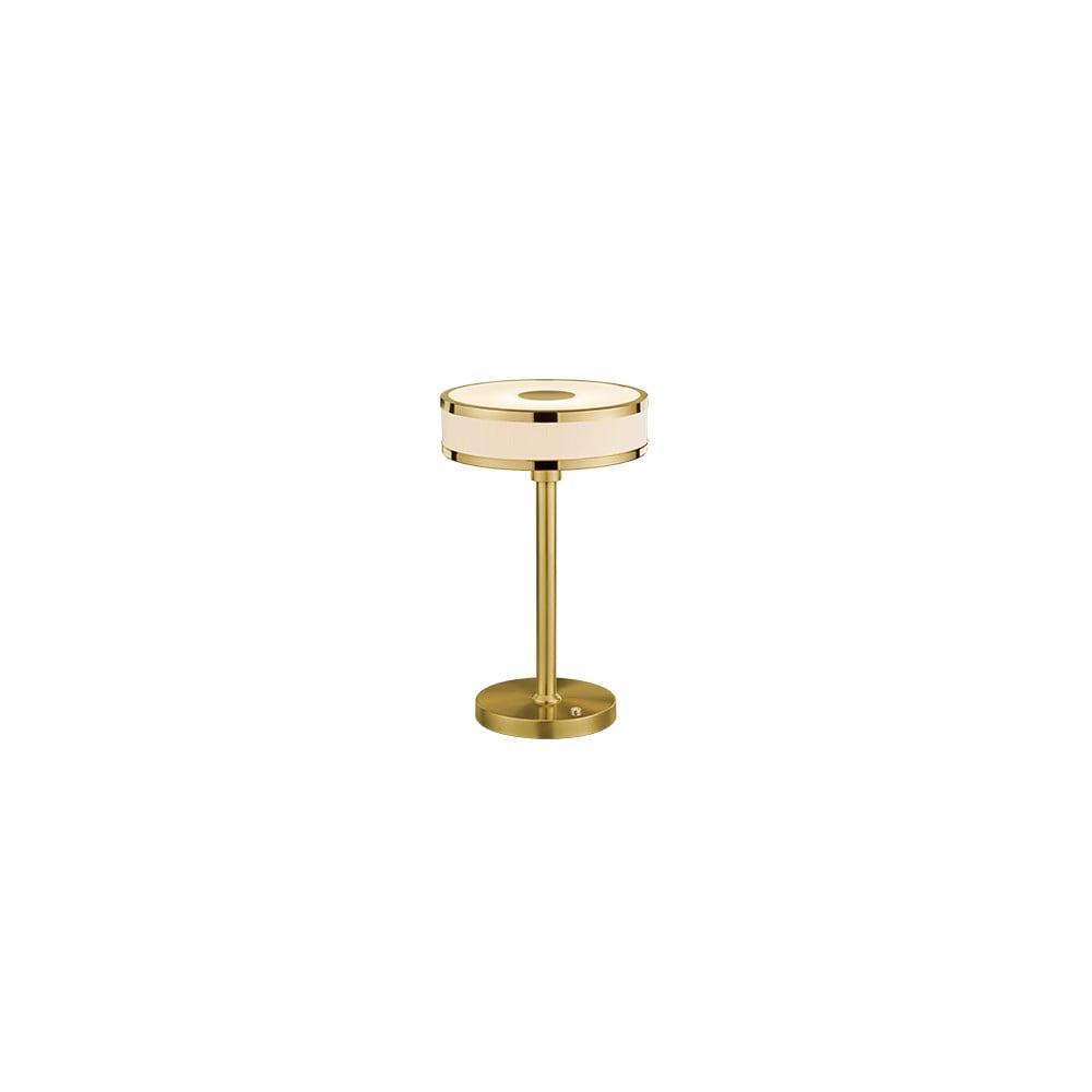 Produktové foto Stolní LED lampa ve zlaté barvě Trio Agento, výška 32 cm