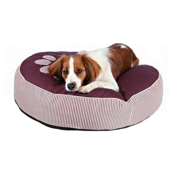 Kulatý polštář pro psy Wilson, bordó