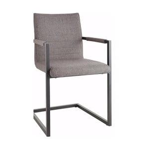 Sada 2 šedých židlí s područkami Støraa Stacey