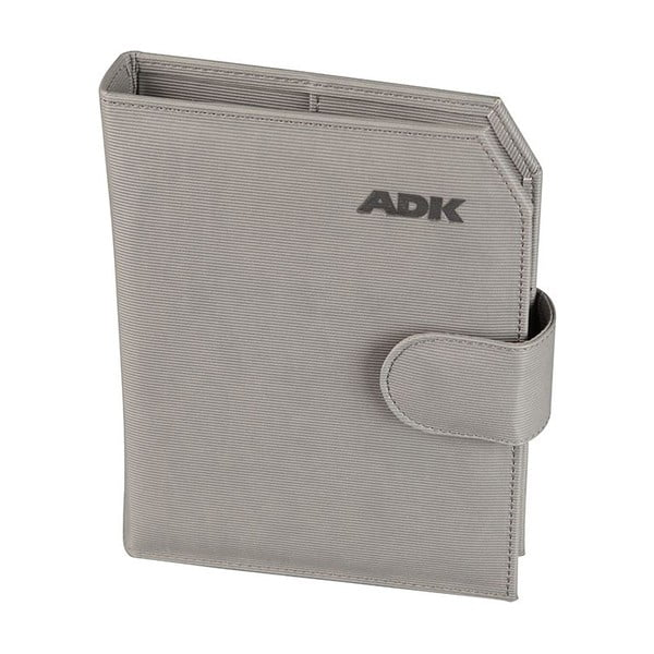 Diář na rok 2016 ADK Praktik, šedý, vel. A5