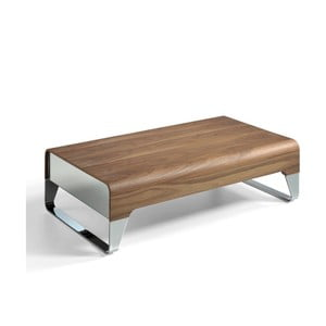 Konferenční stolek s úložným prostorem z ořechového dřeva Ángel Cerdá Demien
