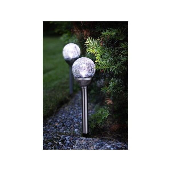 Sada 2 zahradních světel Best Season Balls