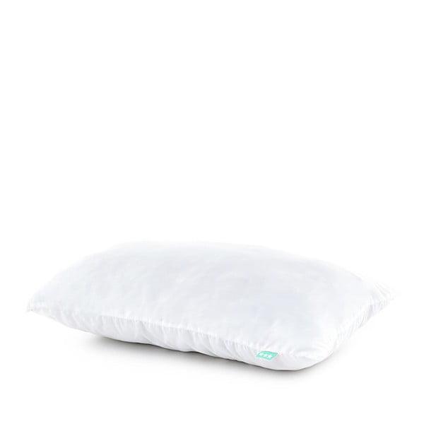Bílý bavlněný povlak na polštář, 50x30 cm