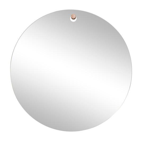 Nástěnné závěsné zrcadlo Hübsch Mafo, ø 50 cm