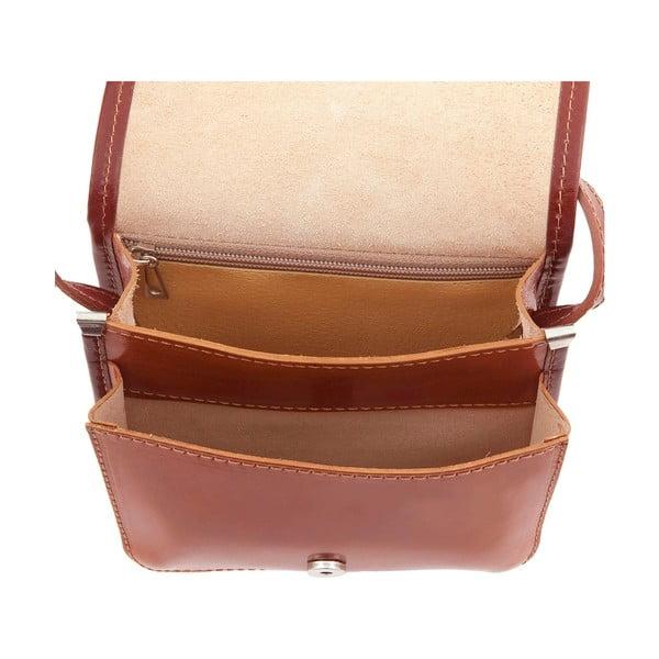 Kožená kabelka Campagna, honey/brown