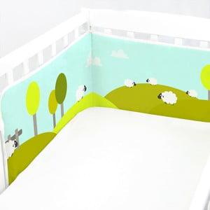 Nastavitelná výstelka do postýlky Baleno Little Sheep, 210x40cm