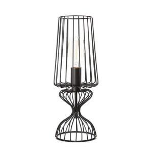 Černá stolní lampa ETH Wire Frie