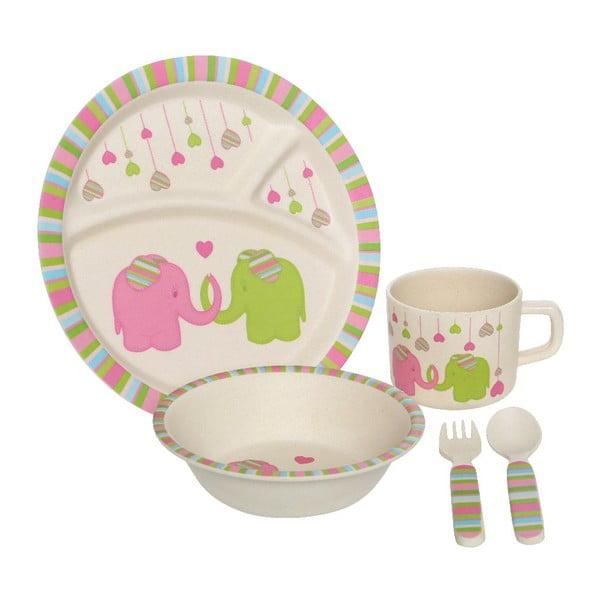 Dětský set nádobí Premier Housewares Elephant, 5 ks