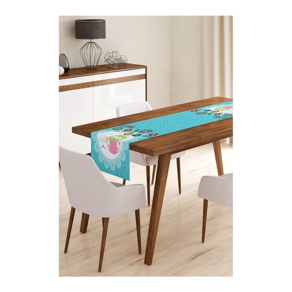 Blue Owl mikroszálas asztali futó, 45 x 145 cm - Minimalist Cushion Covers