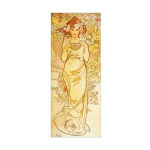 Obraz Mucha - Rose, 30x75 cm