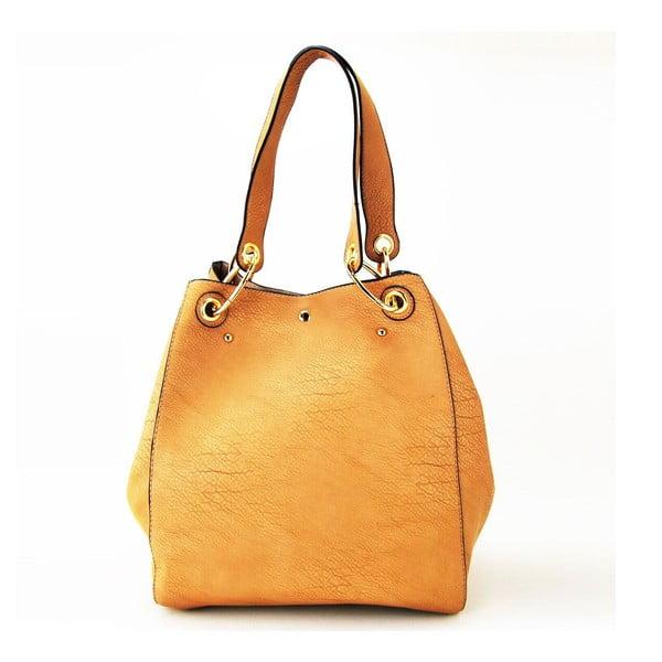 Kožená kabelka Siona Taupe