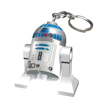 Breloc cu lanternă LEGO® Star Wars R2D2 imagine