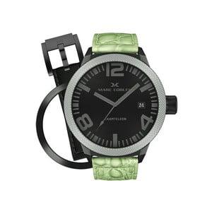Pánské hodinky Marc Coblen s páskem a kroužkem navíc P51