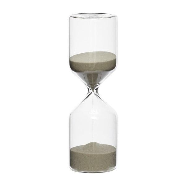Klepsydra z beżowym piaskiem Hübsch Margie, 30 minut