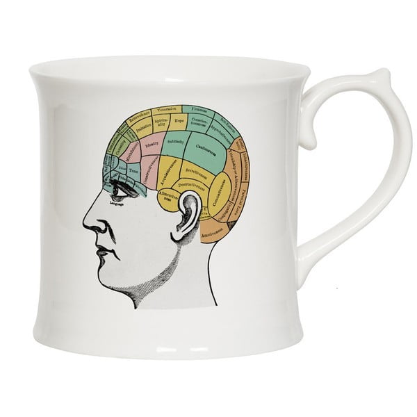 Hrnek Curious Phrenology