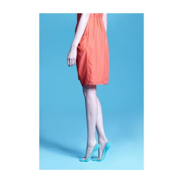 Ponožky Gina Teal Invisible, vel. univerzální