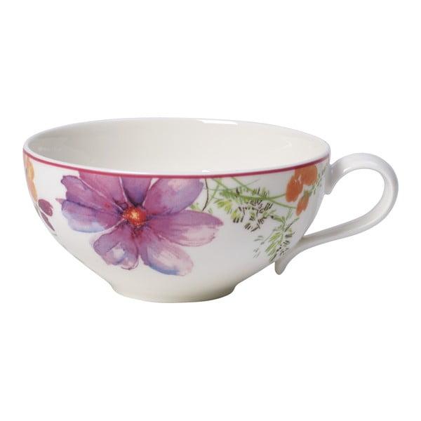 Porcelánový šálek na čaj s motivem květin Villeroy & Boch Mariefleur Tea, 0,24 l