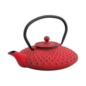 Červená čajová konvice se sítkem Brandani Cast,800ml