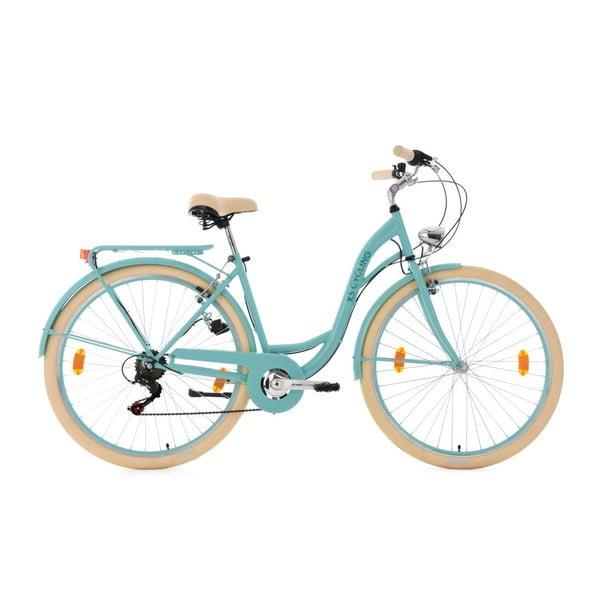 Kolo City Bike Balloon Blue/Green 28'', výška rámu 48 cm
