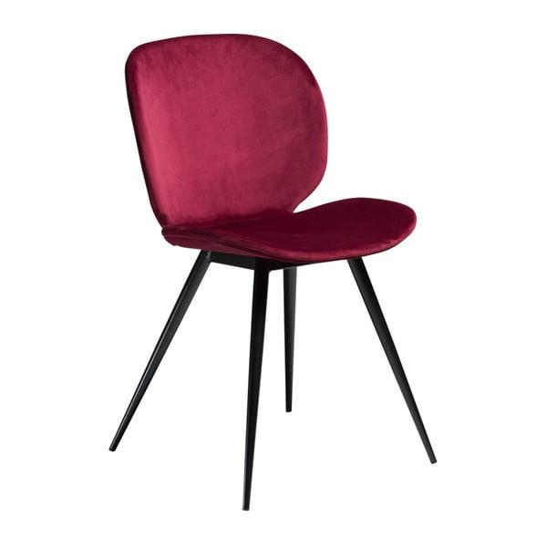 Tmavoružová stolička DAN-FORM Denmark Cloud