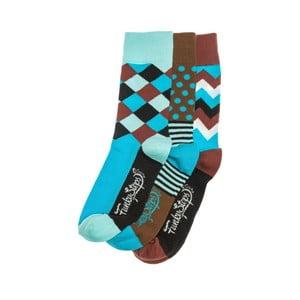 Sada 3 párů ponožek Funky Steps Maiki, univerzální velikost