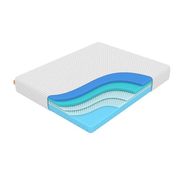 Matrace z paměťové pěny Enzio Ocean Max Transform, 90 x 200 cm, výška 23 cm