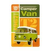 Plechová cedule Camper Van, 20x30 cm