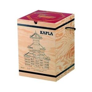 Dřevěná stavebnice Kapla s červenou knížkou, 280 ks