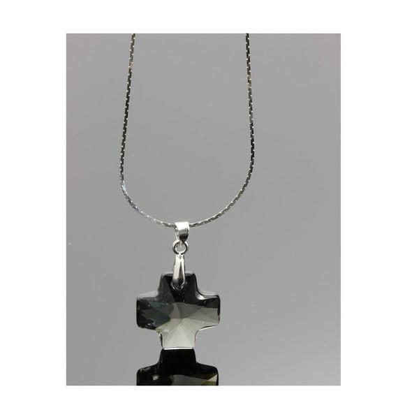 Náhrdelník Swarovski Elements Black Diamond