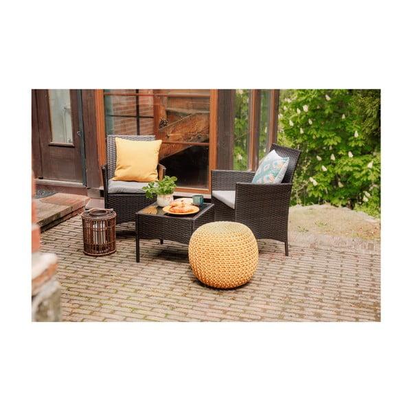 Set zahradního nábytku z umělého ratanu Timpana Melony