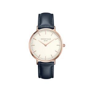 Bílomodré dámské hodinky Rosefield The Bowery