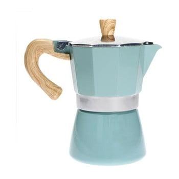 Cafetieră Mocca Brandani Tiffany, albastru, pentru 3 cești imagine