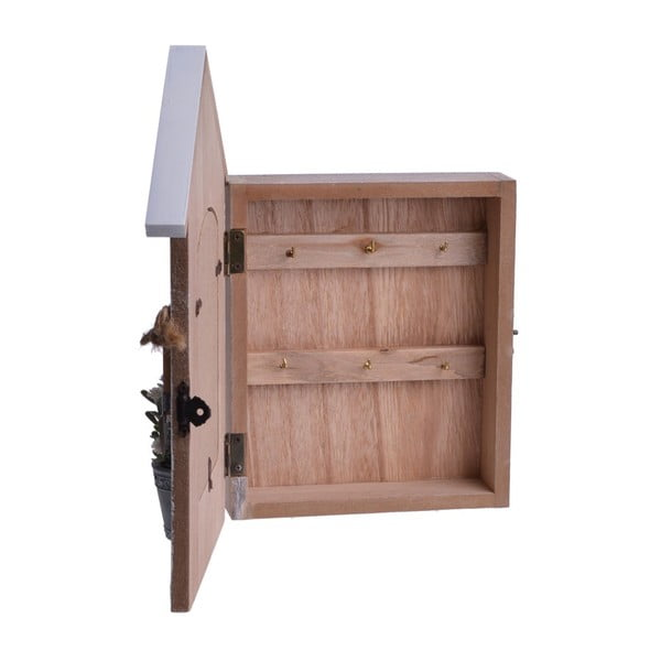 Dřevěná skříňka s fotorámečkem Wooden