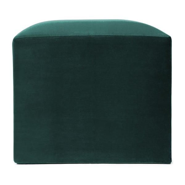 Petrolejově zelený puf Vivonita Kim