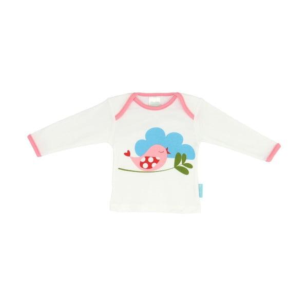 Dětské tričko Little Birds s dlouhým rukávem, vel. 3 až 6 měsíců