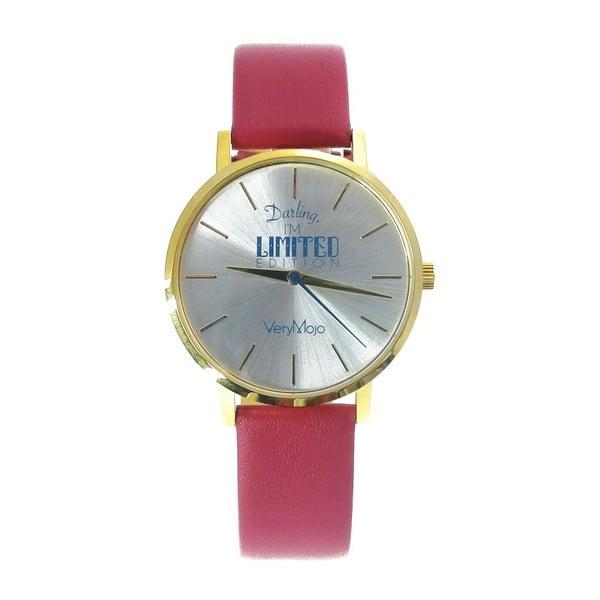 Růžové hodinky VeryMojo Limited Edition