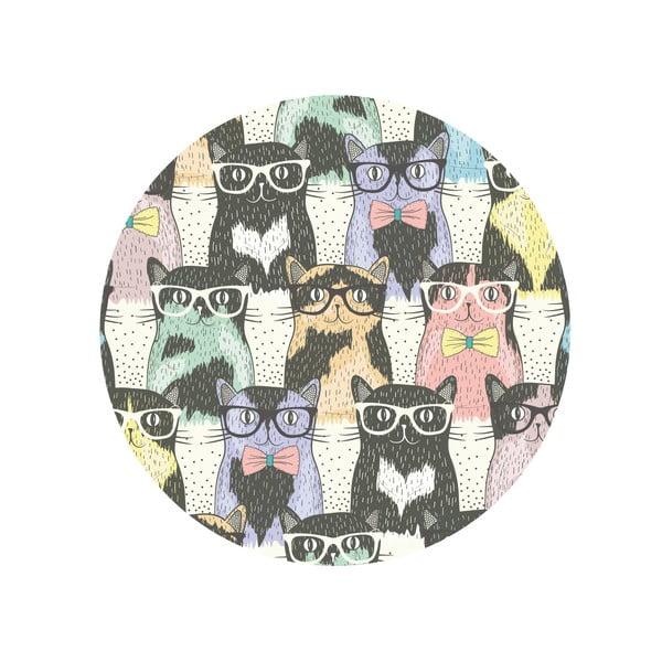 Jídelní stůl Cats In Glasses, 120 cm