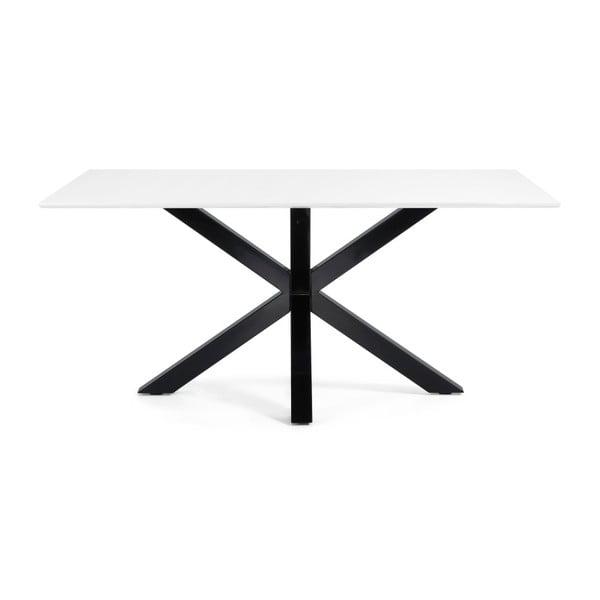 Jídelní stůl Arya, 180x100cm, černé lakované nohy