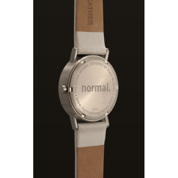 Hodinky Extra Normal White Leather, 32 mm