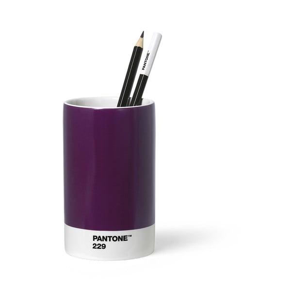 Suport din ceramică pentru pixuri și creioane Pantone, violet
