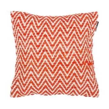 Față de pernă cu model Tiseco Home Studio Ziggy, 45 x 45 cm, portocaliu de la Tiseco Home Studio