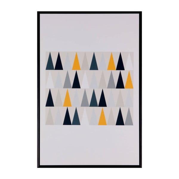 Tablou Sømcasa Triangulos, 40 x 60 cm