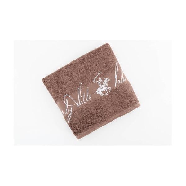 Bavlněný ručník BHPC 50x100 cm, kávový