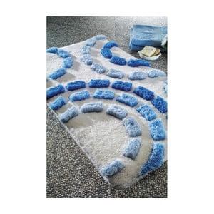 Koupelnová předložka Arinna Blue, 60x100 cm