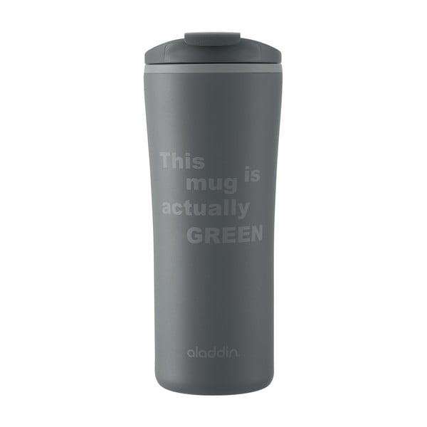Recyklovaný a recyklovatelný hrnek Papillon, šedý