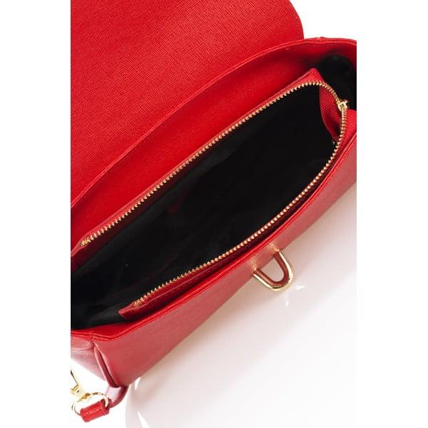 Kožená kabelka Markese 2355 Red