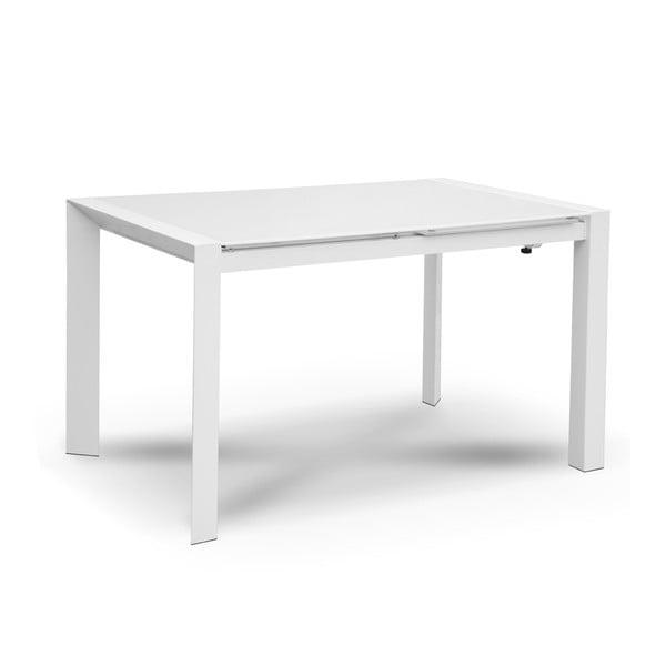 Rozkládací jídelní stůl Seller, 120-180 cm, bílý